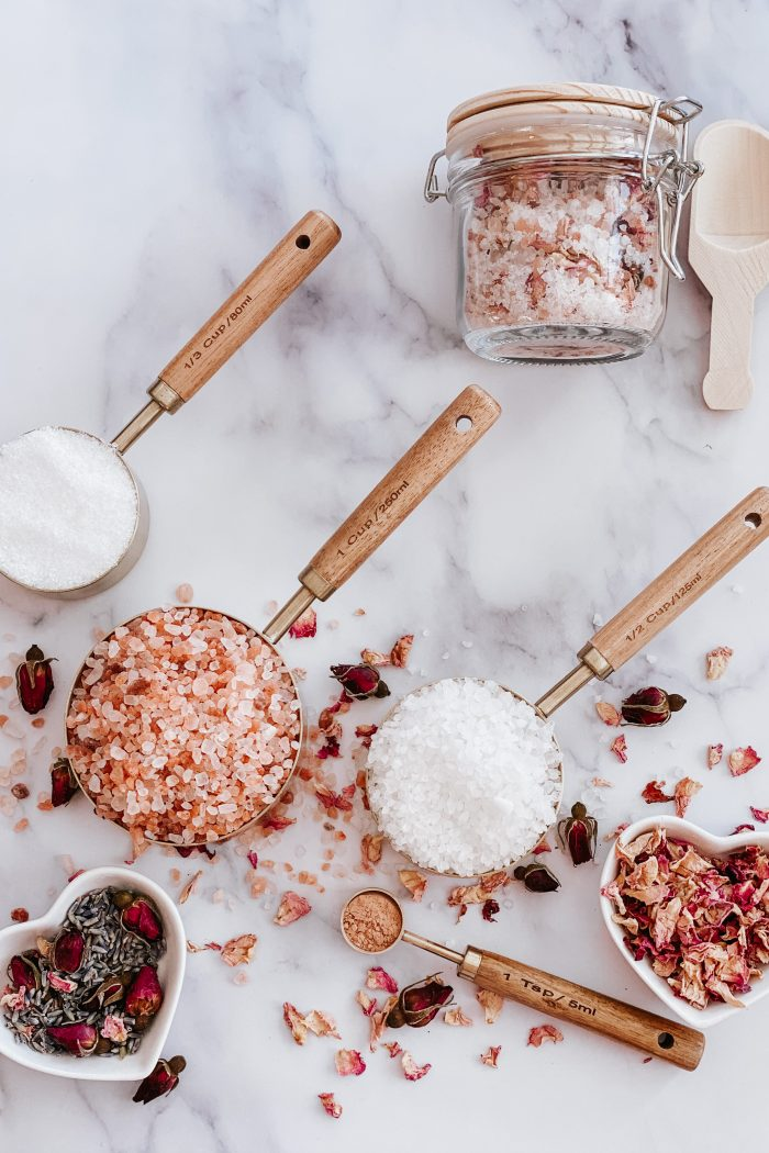 Quick Galentines Bath Soak