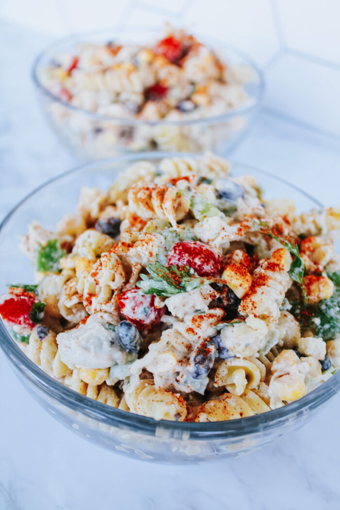 Summer Street Corn Pasta Salad