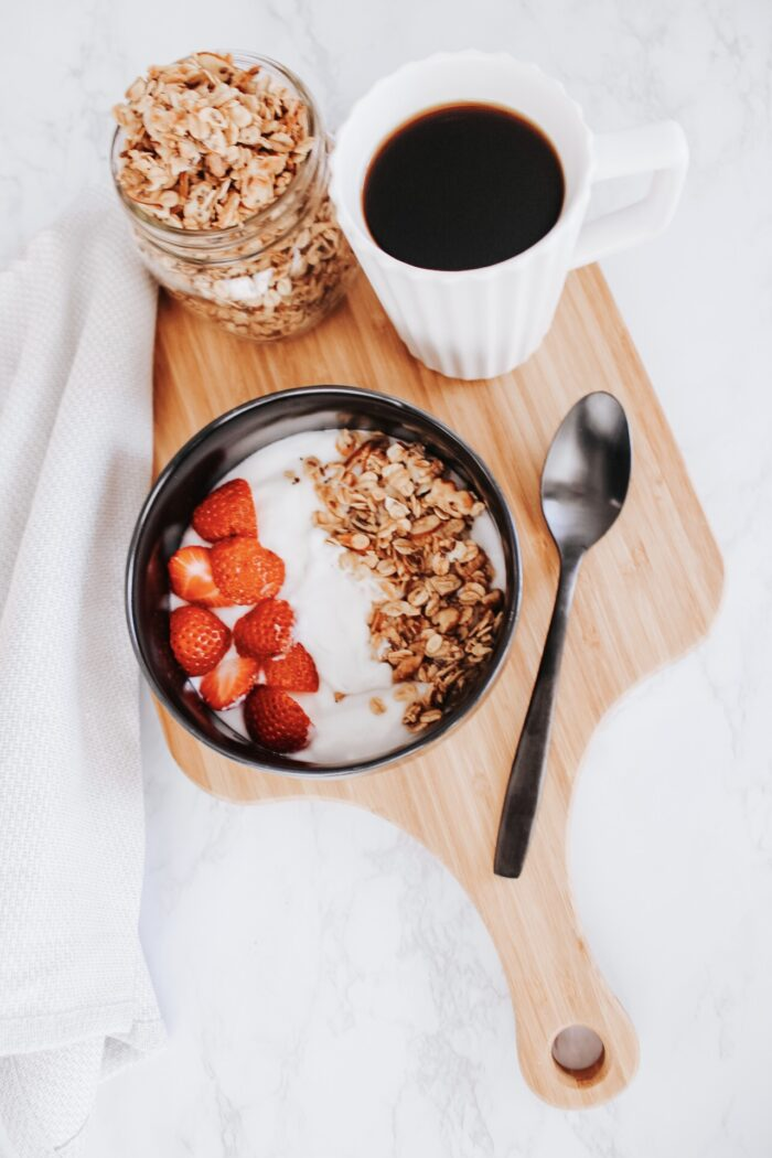 Simple Honey + Almond Granola
