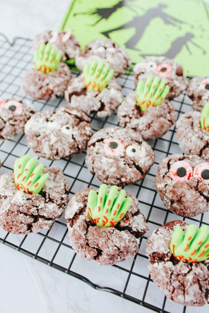 Monster Cake Cookies